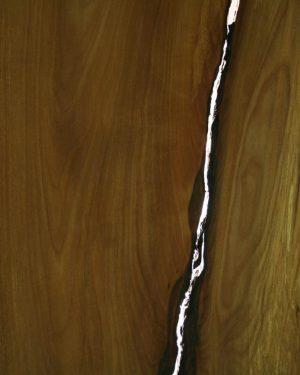 Wandbild Elsbeere Detail Und Maserung