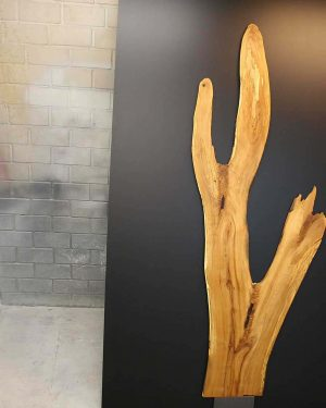 Elsbeere Wandkunst Industrielook