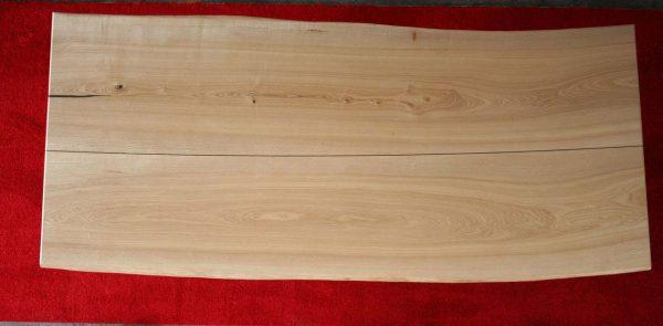 Massivholztischplatte Esche