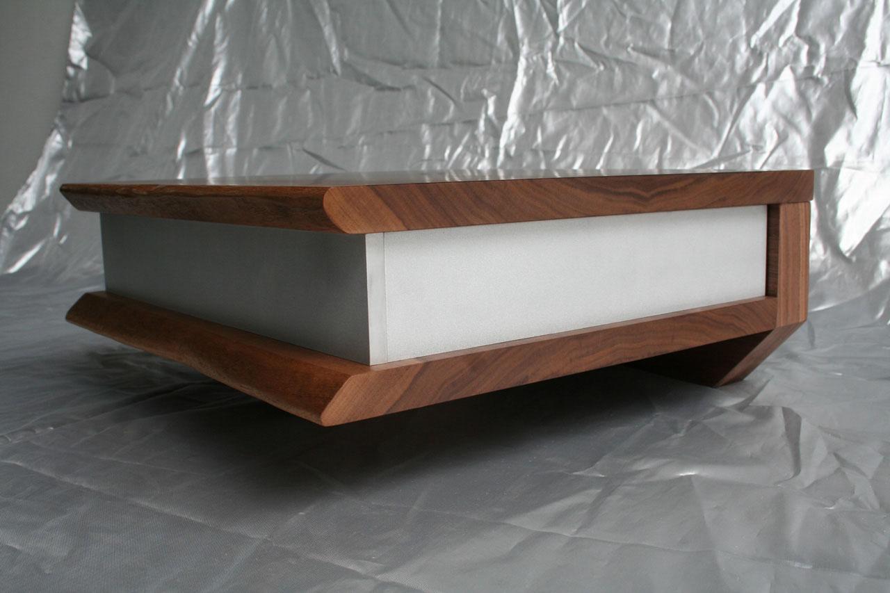 Schwebende Nachtschränke - Holz³