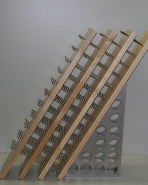 Industriedesign Weinregal