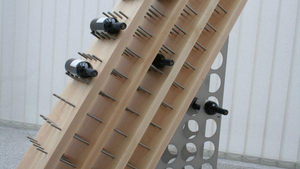 Weinregal Industrielook Produktdesign
