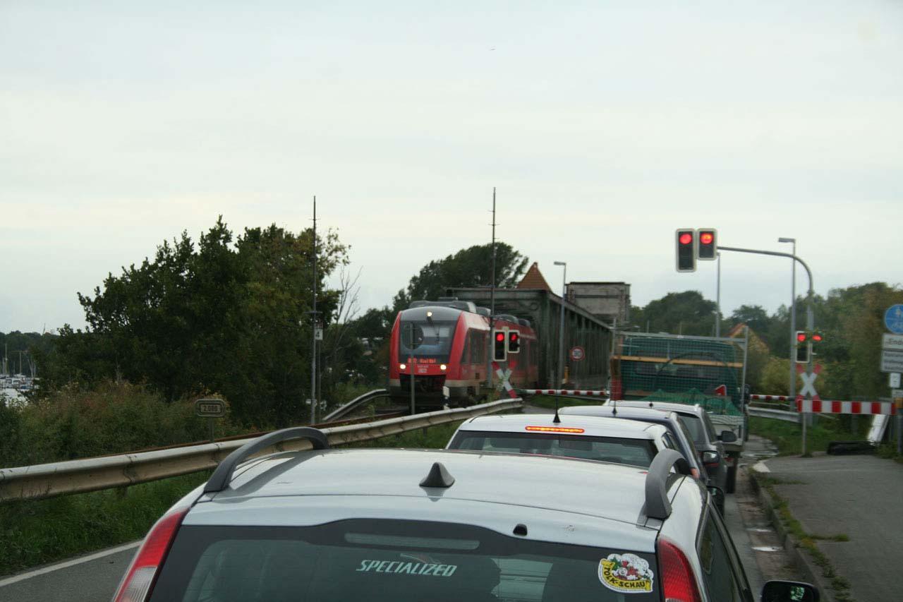 Lindaunisbrücke Eisenbahn