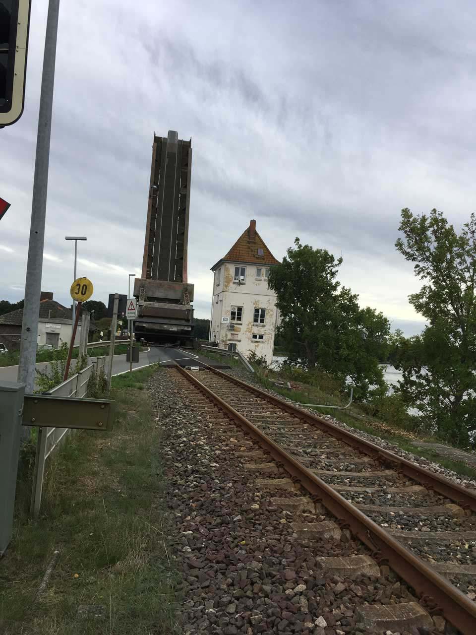Lindaunisbrücke Geöffnet