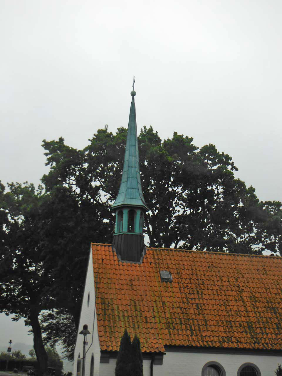 Glockenturm der kleinen Schifferkirche in Maasholm