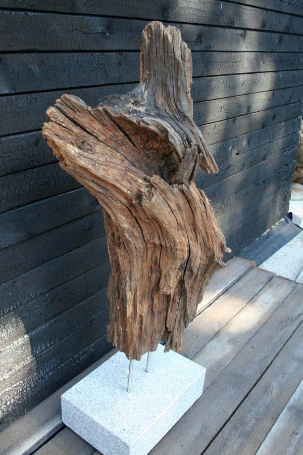 Skulptur Lavastrom Seitensicht