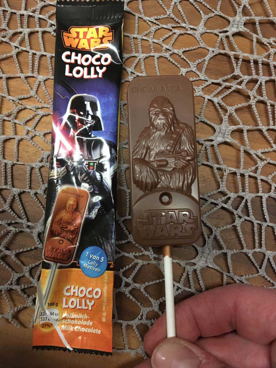 Chewbacca Lolly