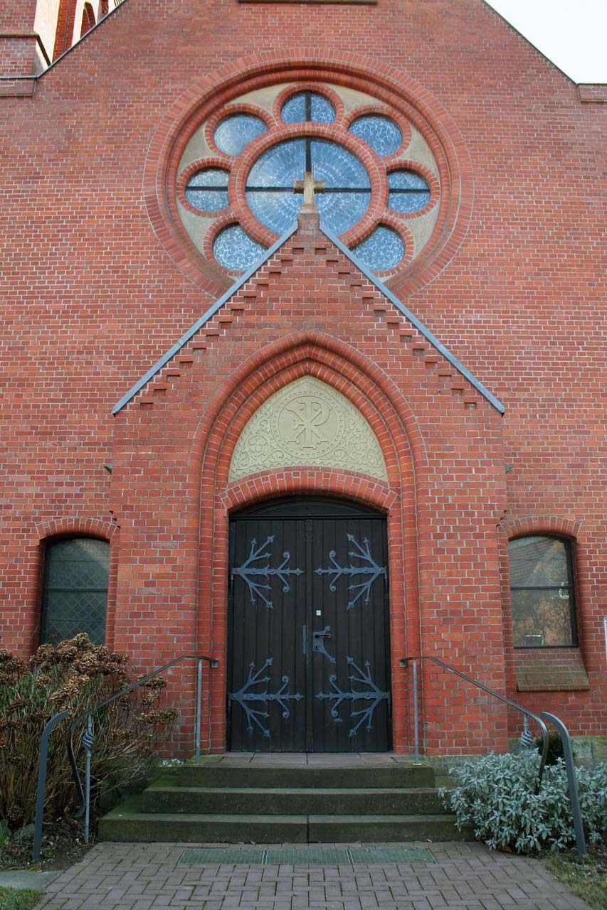 Kirchentor in Ruthe