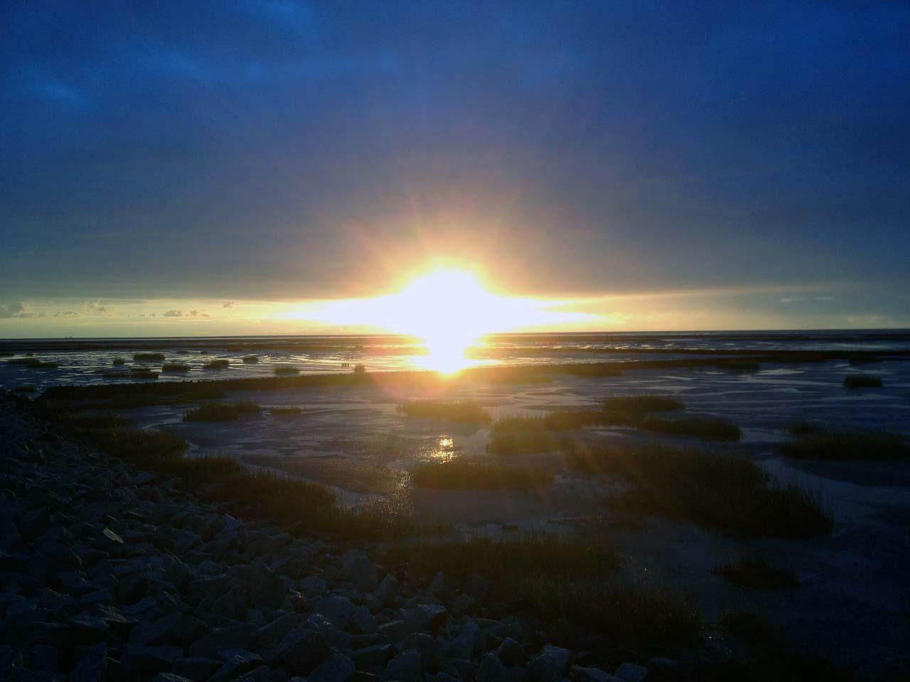 Nordseeküste Am Abend